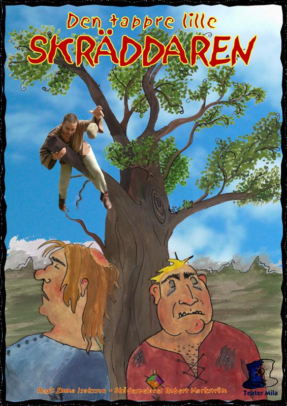 Affischbild från Den tappre lille skräddaren.