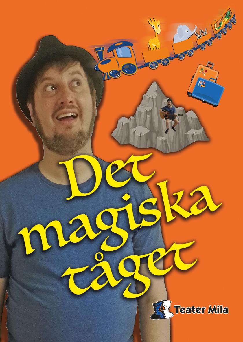 Affischbild Det magiska tåget