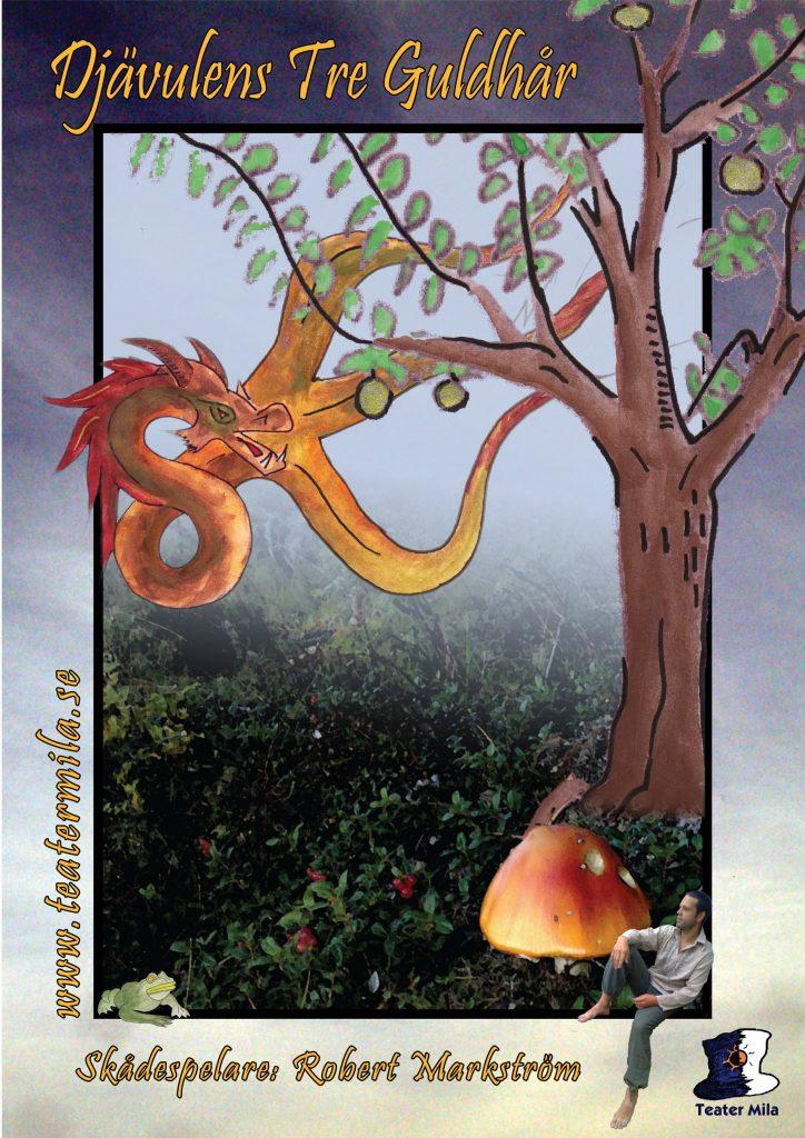 Affischbild Djävulens tre Guldhår