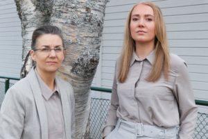 Angelica Alkberg & Malin Falk